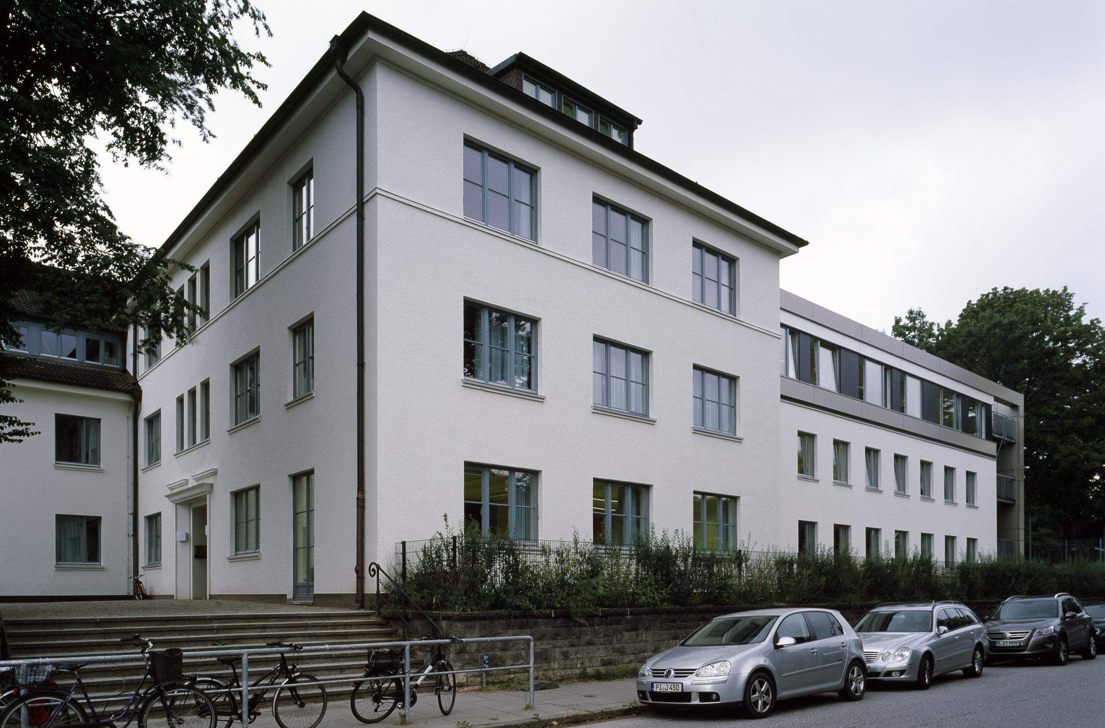bugenhagenschule blankenese hamburg dfz architekten. Black Bedroom Furniture Sets. Home Design Ideas