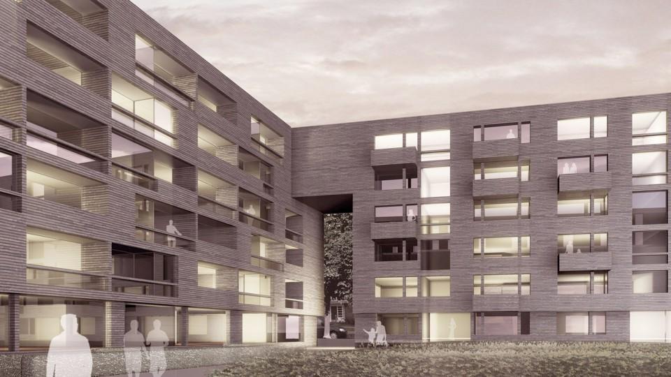 wohnquartier gau stra e hamburg dfz architekten. Black Bedroom Furniture Sets. Home Design Ideas