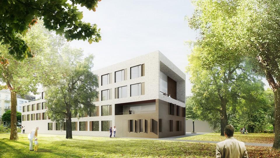 rumond walther haus hamburg dfz architekten. Black Bedroom Furniture Sets. Home Design Ideas