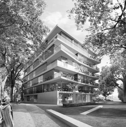 Rainvilleterrassen Residential Complex Hamburg