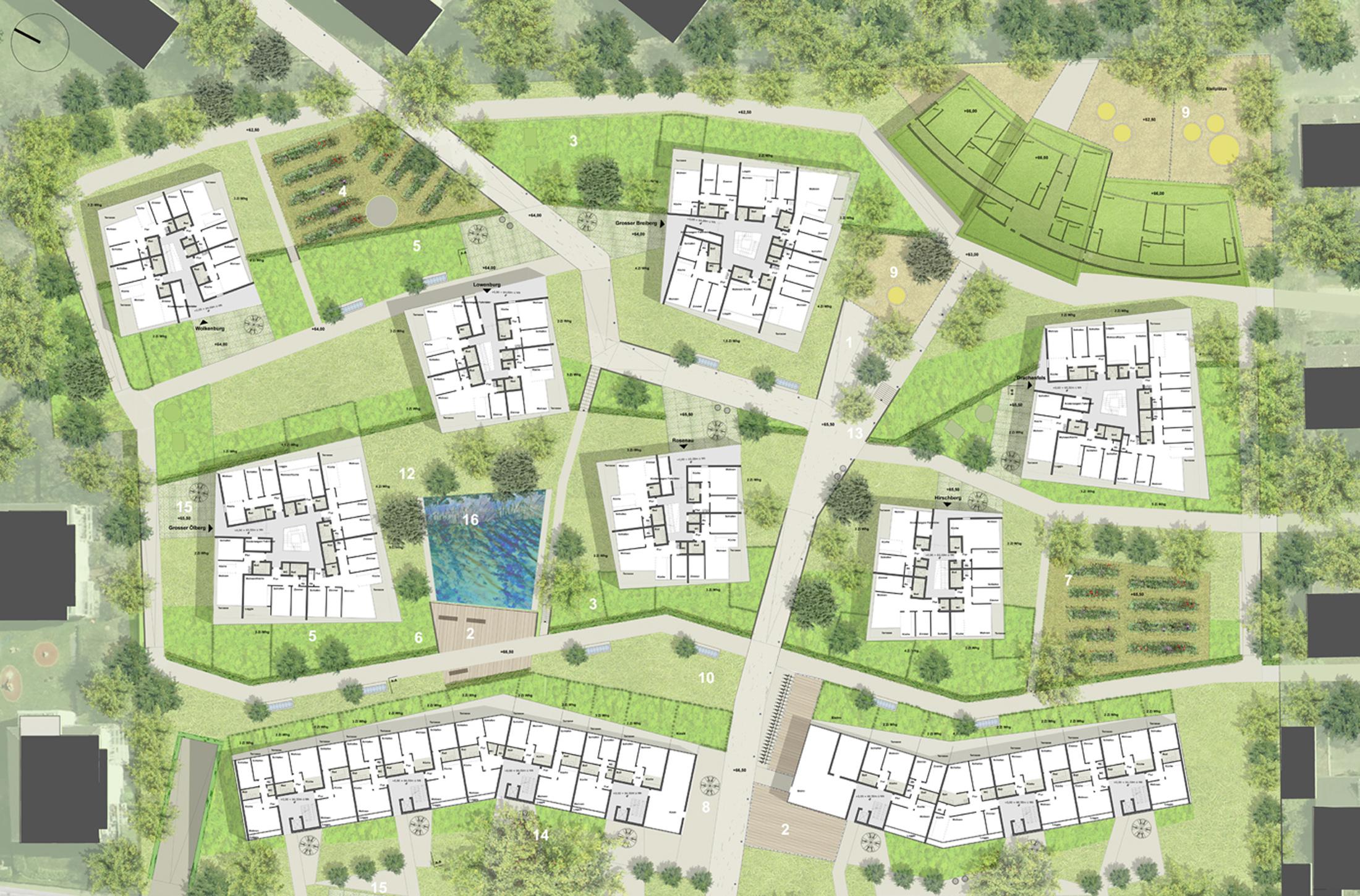 Residential Development Bonn Bad Godesberg DFZ ARCHITEKTEN