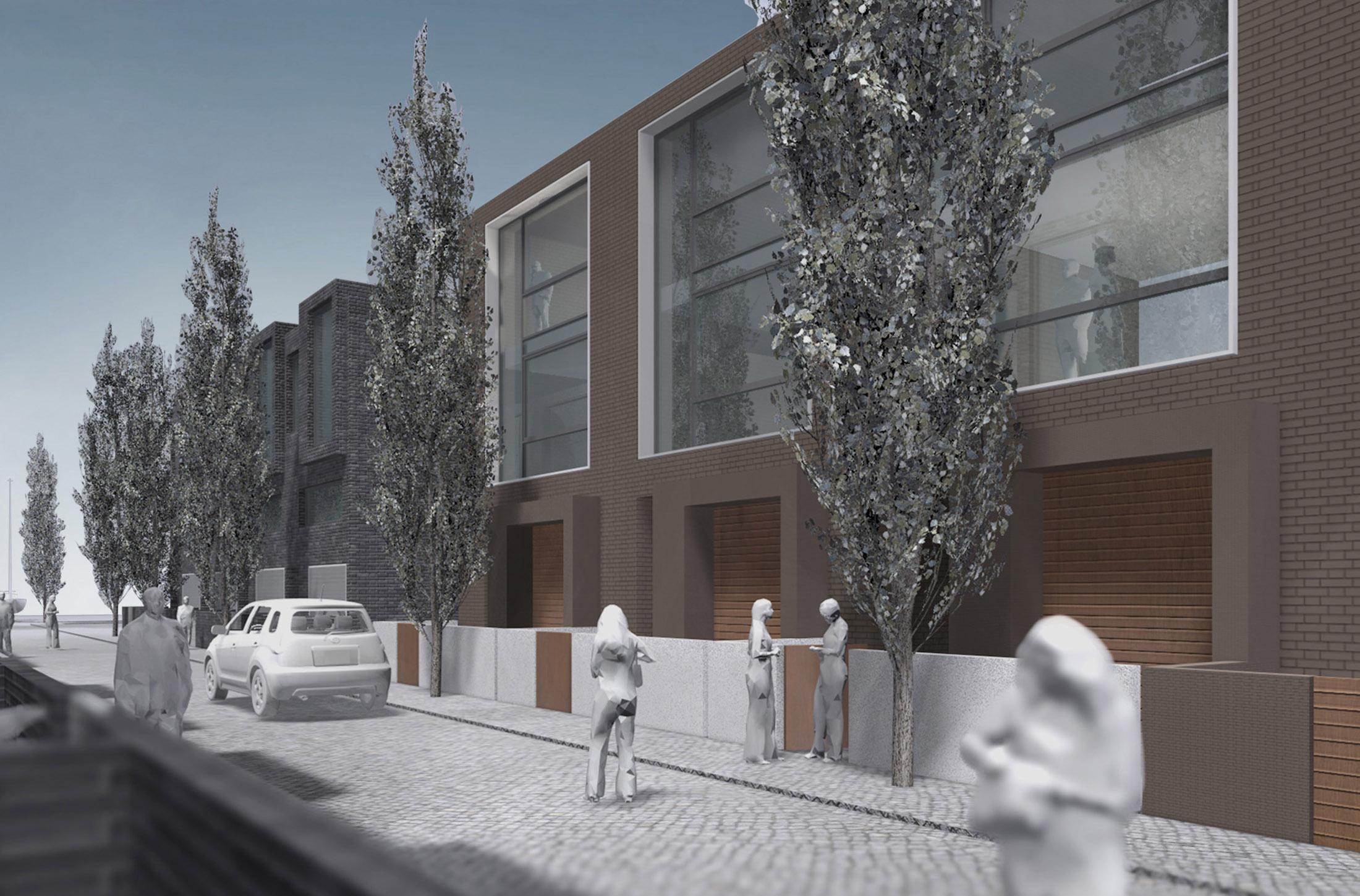harburger schlossinsel hamburg dfz architekten. Black Bedroom Furniture Sets. Home Design Ideas