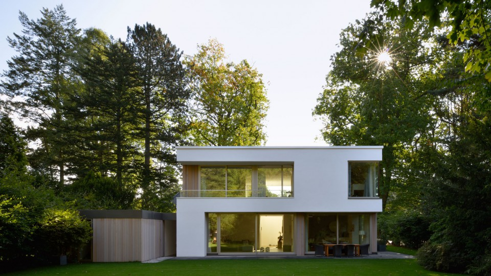 einfamilienhaus nienstedten hamburg dfz architekten. Black Bedroom Furniture Sets. Home Design Ideas