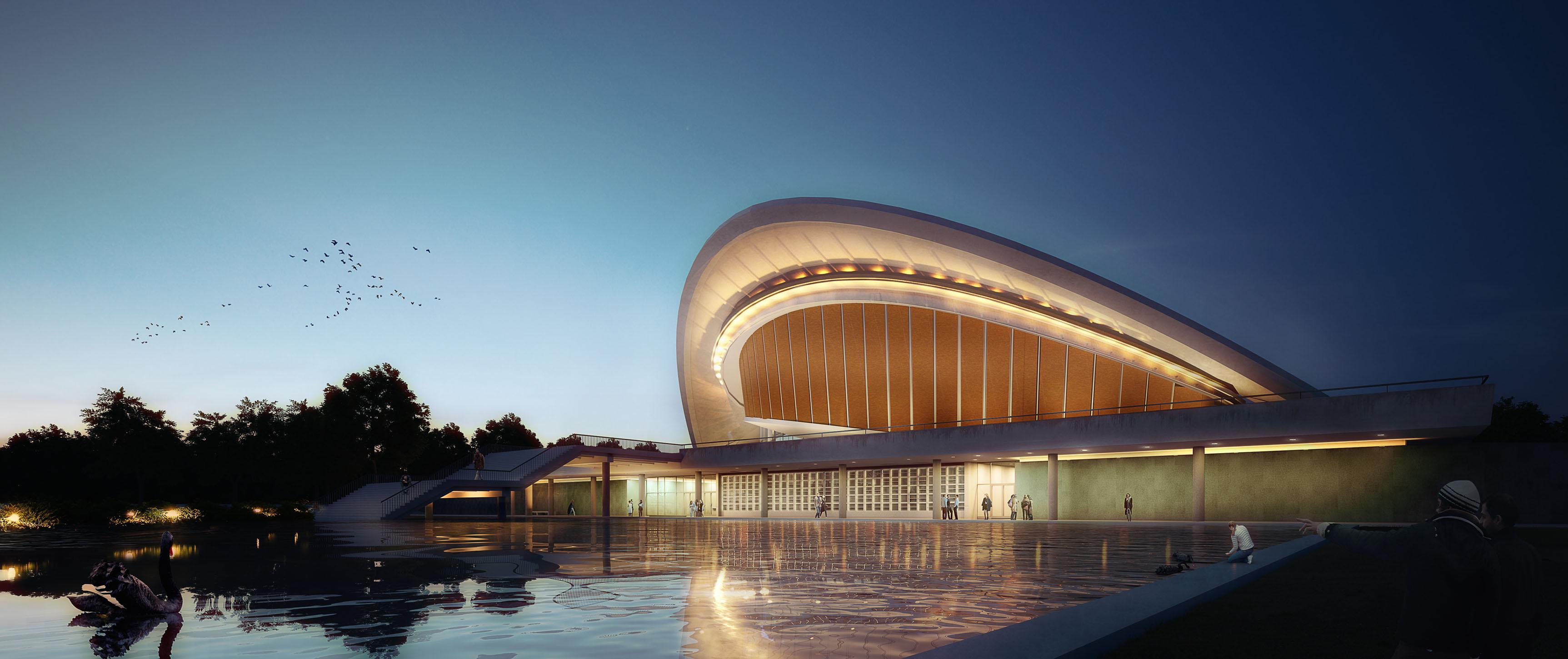 Haus der Kulturen der Welt DFZ Architekten