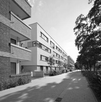 Residential area Ifflandstraße Hamburg