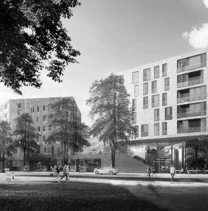 Wohnbebauung Lindenhof Ahrensburg