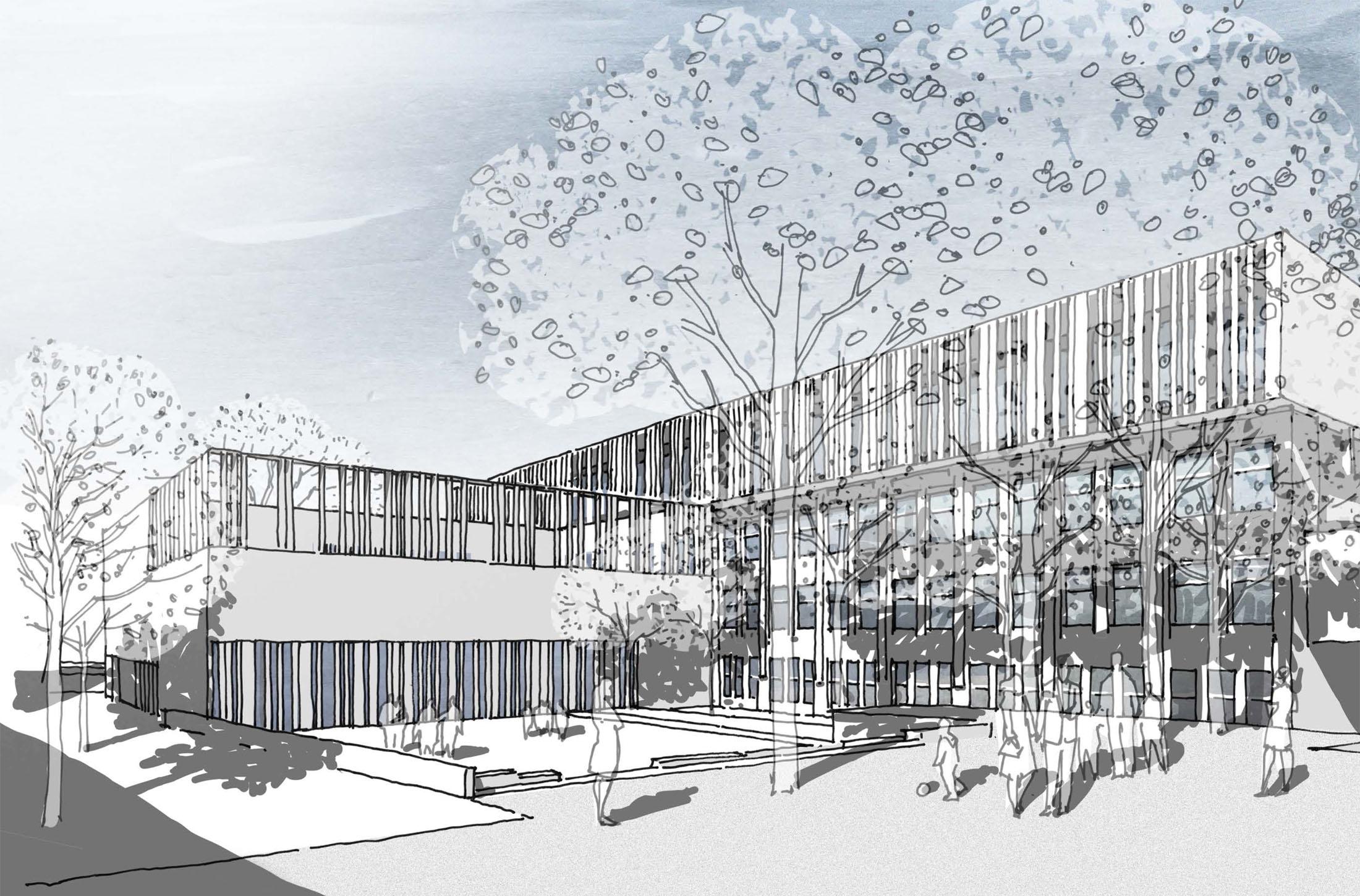 Goethe Schule Harburg goethe schule harburg hamburg dfz architekten