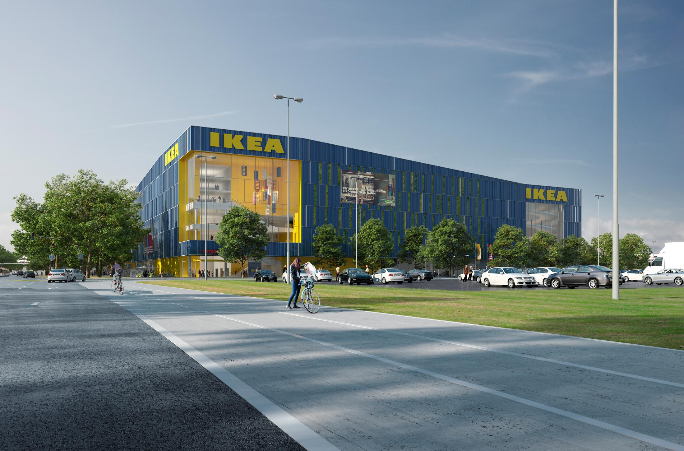 Ikea Karlsruhe DFZ ARCHITEKTEN