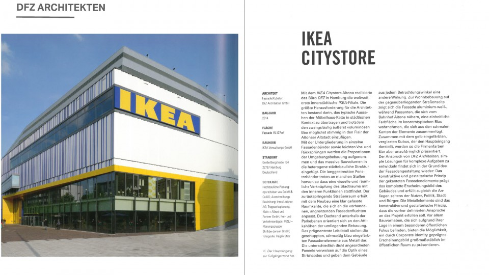 Corporate architecture ikea altona hamburg dfz architekten for Architekten hamburg altona
