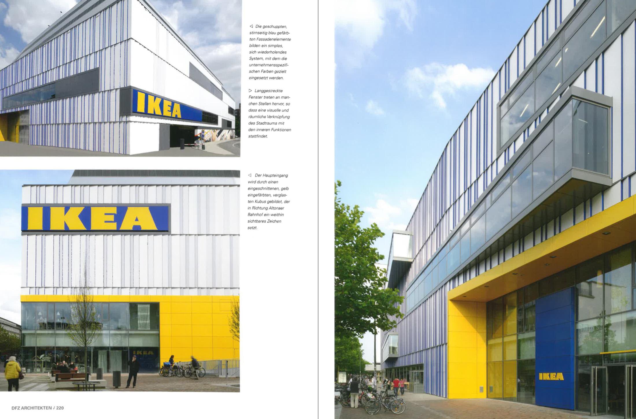 Corporate architecture ikea altona hamburg dfz architekten for Architekten hamburg altona