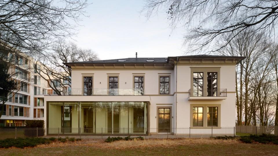 villa therese im heinepark hamburg dfz architekten. Black Bedroom Furniture Sets. Home Design Ideas