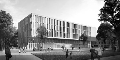 Teaching and Laboratory Building HTW Dresden