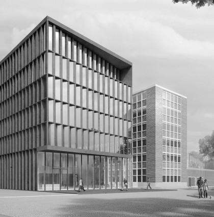 Drägerwerk Neubau Haus 71 Lübeck