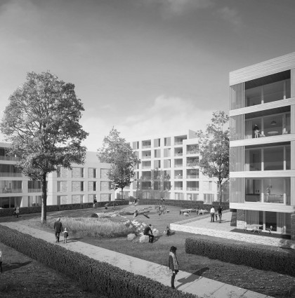 Erneuerung Siedlung Westend Berlin