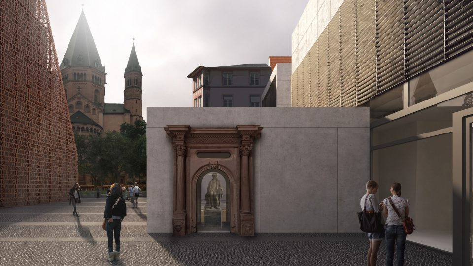 DFZ_Gutenbergmuseum Gutenbergstatue