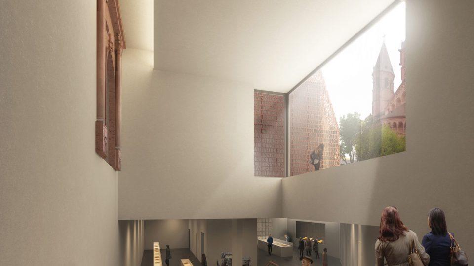 DFZ_Gutenbergmuseum Treppenabgang Innen