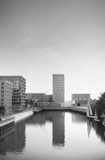 Halbinsel Kesselstraße Düsseldorf